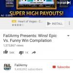 YouTube – App Install Ad