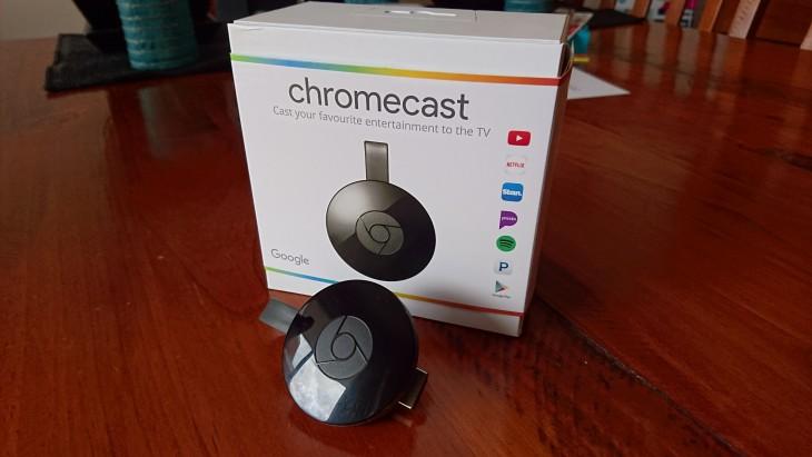 Chromecast 2 Box