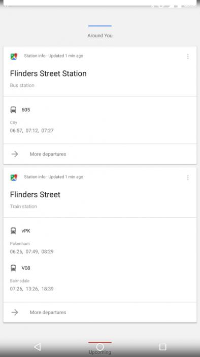 Google Transit - Victoria