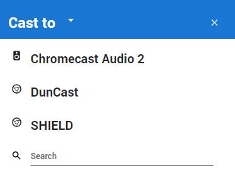 Chrome Casting 2