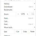 Chrome casting menu 2