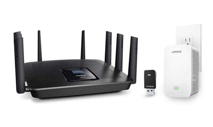 Linksys Family Shot