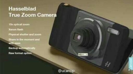 HelloMoto - Hasselblad camera module - Moto Z