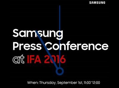 Samsung Gear S3 Press invite