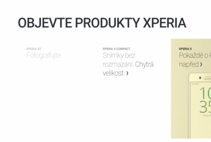 Xperia XZ and Xperia X Compact