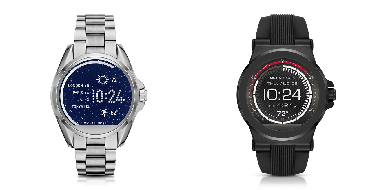 Updated: Michael Kors Access Android Wear watches released ...