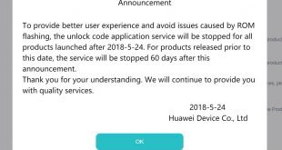 Huawei to cease its bootloader unlock service but don't worry, it wasn't ever in Australia