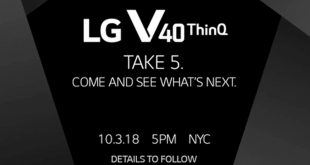 Official LG V40 ThinQ renders leaked by @EvLeaks