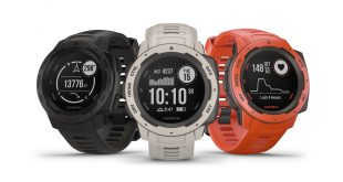 Garmin Instinct is their new GPS enabled shockproof watch available now for $399