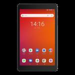 3T 8 4G Tablet_Metallic black_Front_Telstra copie