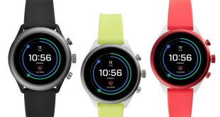 Fossil Sport is their first Snapdragon Wear 3100 watch running Wear OS