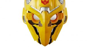 Transformers fans can become Bumblebee with this new Augmented Reality helmet from Hasbro