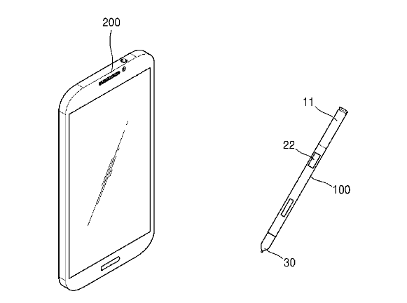 Samsung patent reveals camera-wielding S-Pen fit for James Bond
