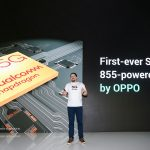 Cristiano Amon, President of Qualcomm Incorporated announcing new chipset for OPPO 5G smartphones coming in 2019