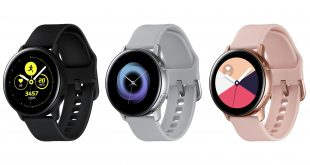 Here's some high res renders of Samsung's Galaxy Watch Active, and wireless earbuds Galaxy Buds