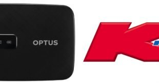 Grab an Optus 4G mobile broadband hotspot for $20 at Kmart