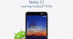 Nokia 3.1 gets update to Android 9 Pie