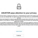 Asustor Privacy Statement