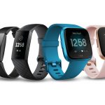 Full Fitbit smartwatch and tracker family image for 2019 Q3.