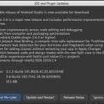 Android Studio update