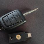 Yubikey 5C NFC car key