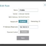 D Link Static IP
