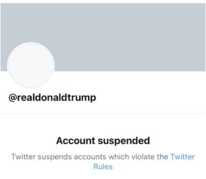 """After inciting violence again, Donald Trump's Twitter account is """"permanently suspended"""""""